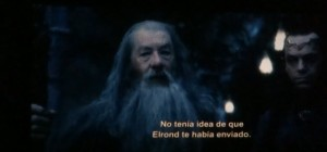 Lord Elrond has sent for you